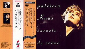 Carnets de scène Double CD Japanese Edition